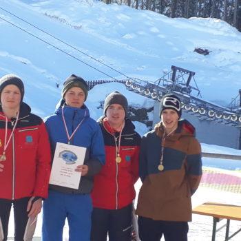 Bronze für Skiteam