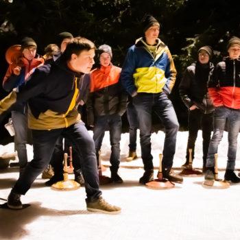 Eisstockschießen LFS Tamsweg