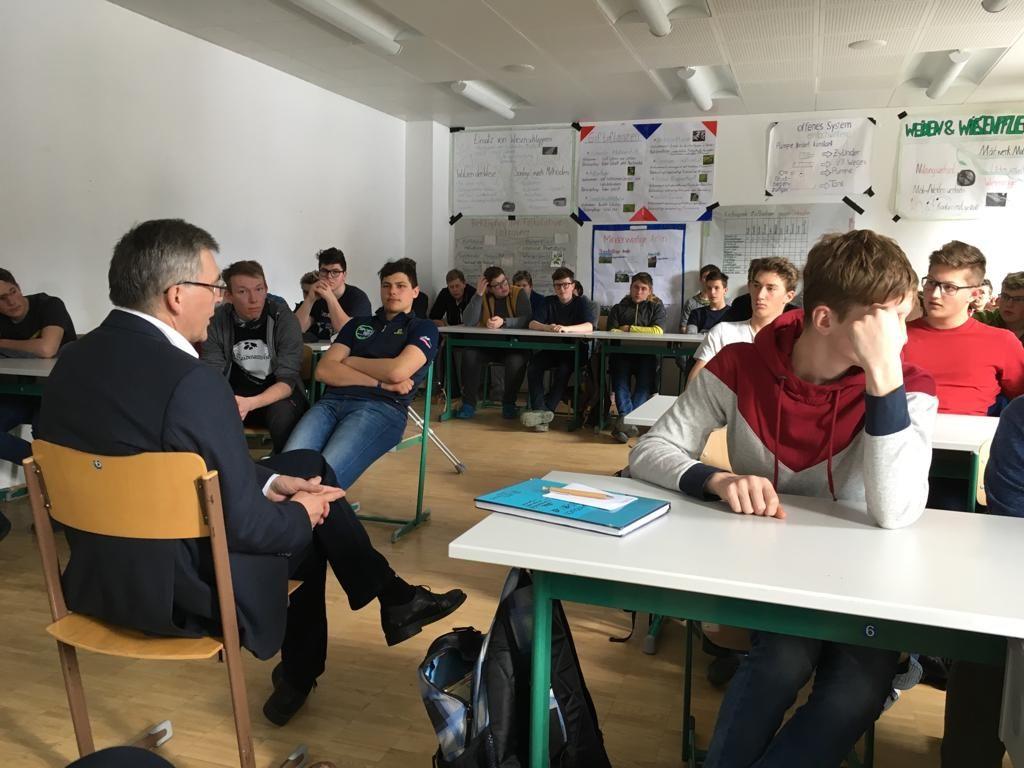 Landesrat Josef Schwaiger zu Besuch an der LFS Tamsweg