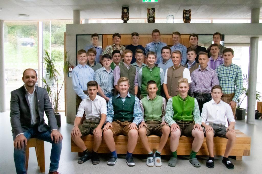 Klassenfoto 2A