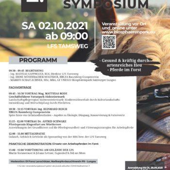 Plakat Pferdesymposium